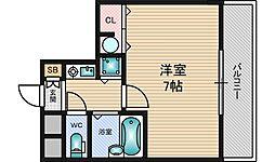 シティライフディナスティ新大阪[2階]の間取り