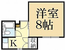 ジョイフルルーム[2階]の間取り