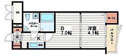 SEST北浜[5階]の間取り