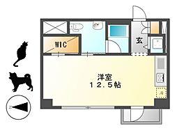 KDXレジデンス東桜I[8階]の間取り