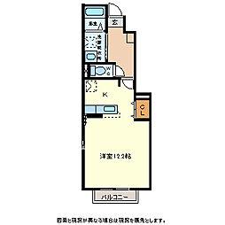 グローヴ[1階]の間取り