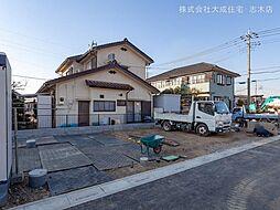 土地(北朝霞駅からバス利用、100.09m²、2,180万円)