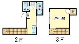 兵庫県姫路市坊主町の賃貸マンションの間取り