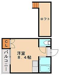 マキシム南福岡駅前[1階]の間取り