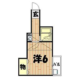 スターホームズ鶴ヶ峰II[106号室]の間取り