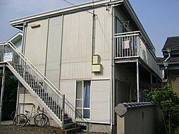 静岡県富士市十兵衛の賃貸アパートの外観