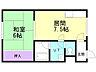 間取り,1DK,面積26.73m2,賃料3.5万円,バス 函館バス白鳥町下車 徒歩2分,,北海道函館市白鳥町14-2
