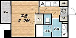 サムティ北浜EST[11階]の間取り