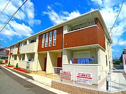 兵庫県加古川市尾上町口里字村内の賃貸アパートの外観