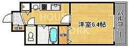 スワンズ京都五条大宮[506号室号室]の間取り