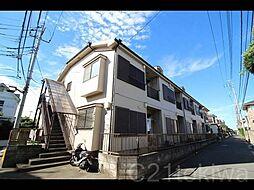 埼玉県朝霞市膝折町1丁目の賃貸アパートの外観