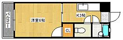 ステーションビルII[5階]の間取り