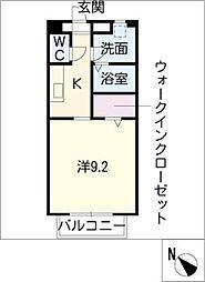 S・K松阪[1階]の間取り