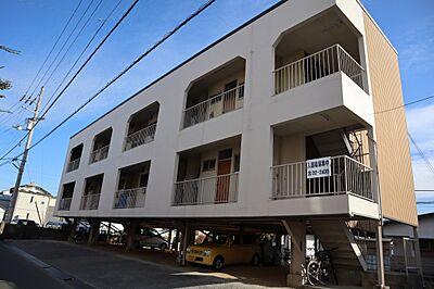 外観,2DK,面積36m2,賃料4.0万円,,,高知県高知市石立町7-1