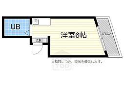 サンピアユタカ[7B号室]の間取り