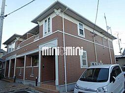 静岡県藤枝市仮宿の賃貸アパートの外観