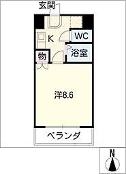 NTビル[6階]の間取り