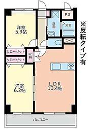 ピノ木町[2階]の間取り