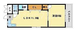 GSハイム立花[2階]の間取り