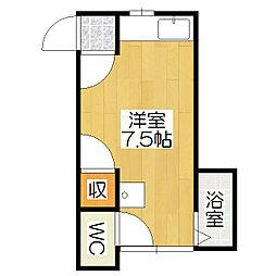 木村住宅[2階]の間取り