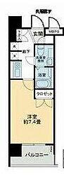 S-FORT蒔田公園[501号室]の間取り