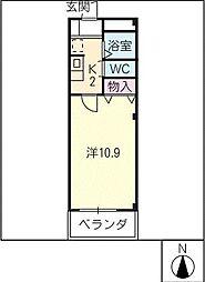 セピアMAISON21[3階]の間取り