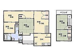 [一戸建] 神奈川県横須賀市池上4丁目 の賃貸【/】の間取り