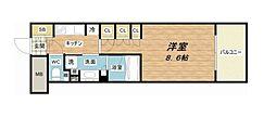 JR東海道・山陽本線 大阪駅 徒歩7分の賃貸マンション 3階1Kの間取り