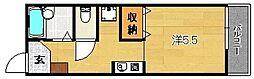セイシンハイツ[B107号室]の間取り