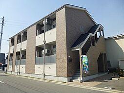 大阪府茨木市横江1丁目の賃貸アパートの外観