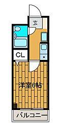 日神パレステージ町田第2[3階]の間取り