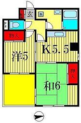 第2オーエムビル[2階]の間取り