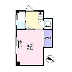 渡辺マンション[2階]の間取り