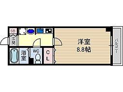 コラソン・パラシオ[6階]の間取り