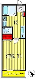 トランスファー[1階]の間取り