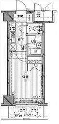 メインステージ東高円寺[703号室号室]の間取り