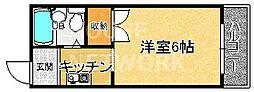 エミールミカゲ[203号室号室]の間取り