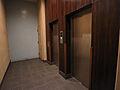 エレベーターが...