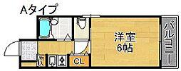 三研BLDインペリアル5号館[4階]の間取り