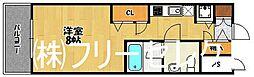 ピュアドームエスパリエ博多[7階]の間取り