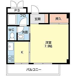 スタールビー21[4階]の間取り