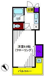 グリーンハイムII[2階]の間取り