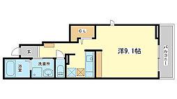 ローレル土山[1階]の間取り