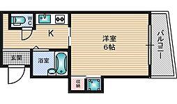 フェアリーコート[2階]の間取り