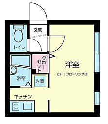 MODULOR中野新橋WEST[2階]の間取り