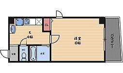プレミアム新福島[10階]の間取り
