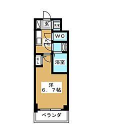 S RESIDENCE鶴舞[11階]の間取り