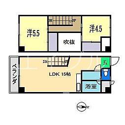 LB−1[2階]の間取り