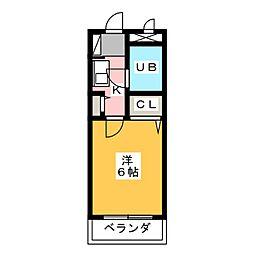 ダイアパレス平針[11階]の間取り