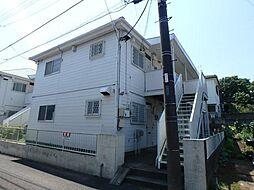 千葉県鎌ケ谷市東鎌ケ谷2丁目の賃貸アパートの外観
